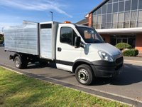 USED 2013 13 IVECO DAILY 70C17 LWB TOOL BOX ARBORIST TIPPER 1 OWNER 49K
