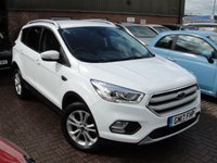 USED 2017 17 FORD KUGA 1.5 TITANIUM TDCI 5d AUTO 119 BHP ANY PART EXCHANGE WELCOME, COUNTRY WIDE DELIVERY ARRANGED, HUGE SPEC