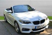 2016 BMW 2 SERIES 1.5 218I M SPORT 2d 134 BHP £16980.00