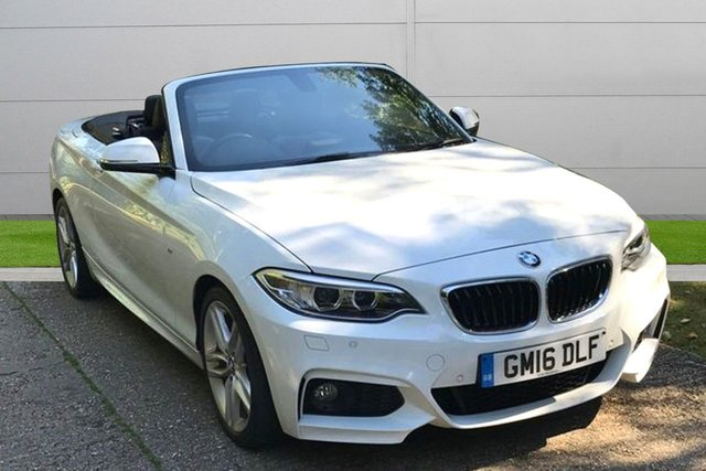 USED 2016 16 BMW 2 SERIES 1.5 218I M SPORT 2d 134 BHP LOW MILEAGE, MANY EXTRAS.FINANCE ME TODAY-UK DELIVERY POSSIBLE