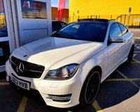 "USED 2013 63 MERCEDES-BENZ C CLASS 3.5 C350 BLUEEFFICIENCY AMG SPORT PLUS 2d AUTO 302 BHP/ REVERSING CAMERA/ SAT NAV/ ABSOLUTELY STUNNING LOOKING MERCEDES-BENZ C350 AMG SPORT PLUS 7G-TRONIC PLUS COUPE WITH LOW MILEAGE 31K CURRENT MILEAGE/ COMES WITH MANY EXTRAS/ SUNROOF/ SAT NAV/ REVERSING CAMERA/ XENONS/ HEATED SEATS/ CRUISE CONTROL/ BLUETOOTH/ SPORT PLUS PACKAGE/ BLUEEF-CY/ AMG ALLOYS IN BLACK/ COMES WITH FULL SERVICE HISTORY/ 1 YEAR NEW MOT/ ROAD TAX £..../ WARRANTY/ 2 KEYS/ HPI CLEARED/   BOOK A TEST DRIVE TODAY! APPLY FOR A CAR FINANCE ON OUR WEBSITE PAGE ""FINANCE"""