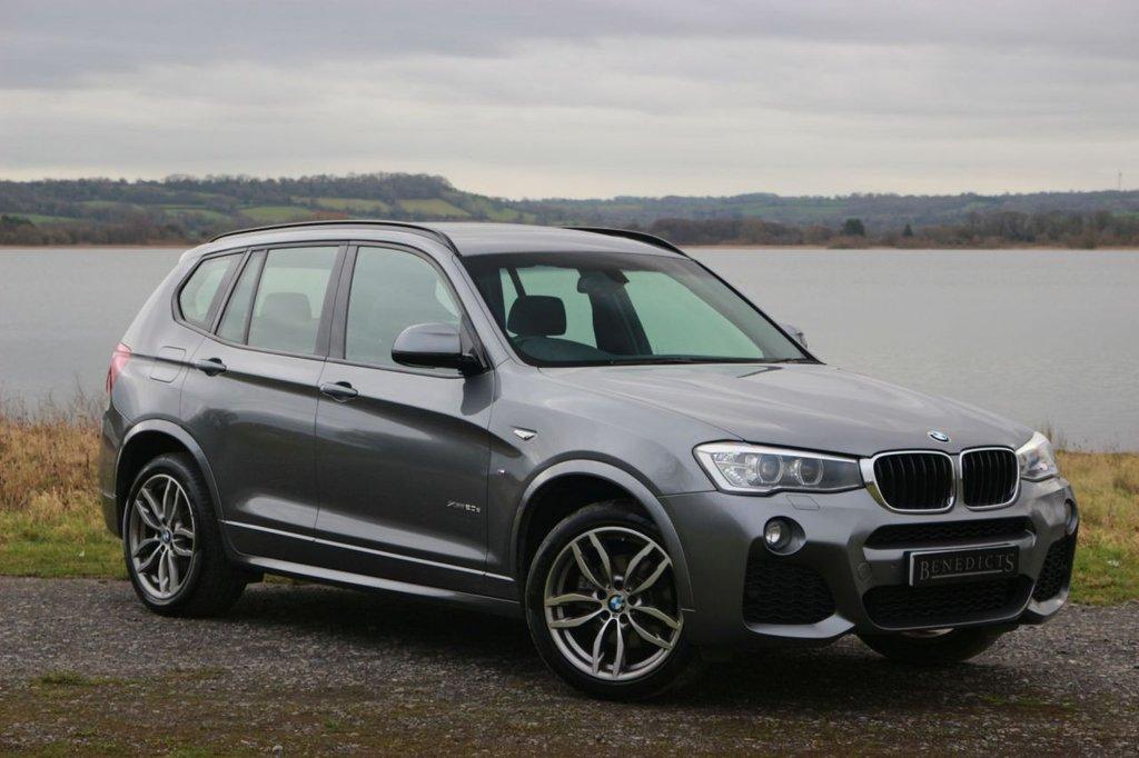 USED 2014 64 BMW X3 2.0 XDRIVE20D M SPORT 5d AUTO 188 BHP
