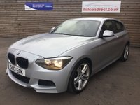 USED 2013 13 BMW 1 SERIES 1.6 116I M SPORT 3d 135 BHP
