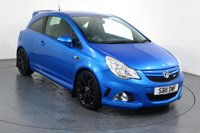 USED 2011 11 VAUXHALL CORSA 1.6 VXR BLUE EDITION 3d 189 BHP 2 OWNERS with 4 Stamp SERVICE HISTORY