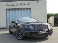 2011 BENTLEY CONTINENTAL 6.0 GTC SPEED 2d AUTO 600 BHP £49995.00