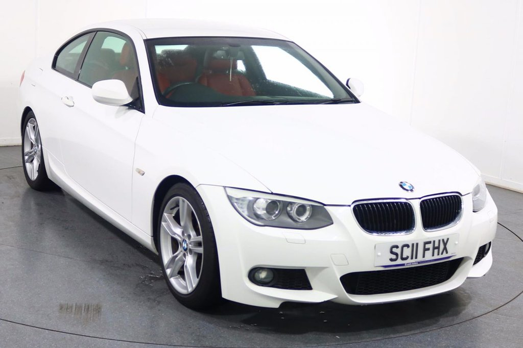 USED 2011 11 BMW 3 SERIES 2.0 318I M SPORT 2d 141 BHP ONE LADY OWNER with 6 Stamp SERVICE HISTORY