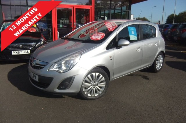 USED 2011 11 VAUXHALL CORSA 1.4 SE 5d 98 BHP *****12 Months Warranty*****