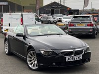 USED 2005 55 BMW 6 SERIES 4.8 650I SMG 2d AUTO 363 BHP *BIG SPEC AND HISTORY, 14 BMW SERVICE STAMPS!*