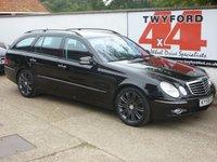 2009 MERCEDES-BENZ E CLASS 3.0 E320 CDI SPORT 5d AUTO 222 BHP £8995.00