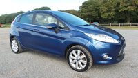 USED 2009 09 FORD FIESTA 1.4 ZETEC 16V 5d 96 BHP CAT-C, ALLOYS, CD-PLAYER, REMOTE LOCKING, AIR-CONDITIONING, ELECTRIC WINDOWS, METALLIC PAINT, ELECTRIC MIRRORS,