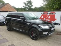 2015 LAND ROVER RANGE ROVER SPORT 3.0 SDV6 HSE 5d AUTO 288 BHP £30995.00