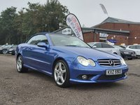 USED 2007 56 MERCEDES-BENZ CLK 3.0 CLK280 SPORT 2d 228 BHP AUTOMATIC CONVERTIBLE +  FULL LEATHER TRIM + HEATED SEATS + CRUISE CONTROL + MEMORY SEATS + BLUETOOTH