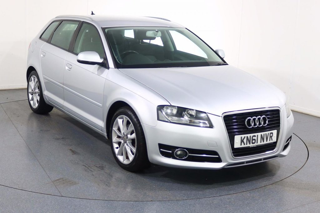 USED 2011 61 AUDI A3 1.4 TFSI SPORT 5d 123 BHP Demo and ONE OWNER with FULL 7 Stamp SERVICE HISTORY