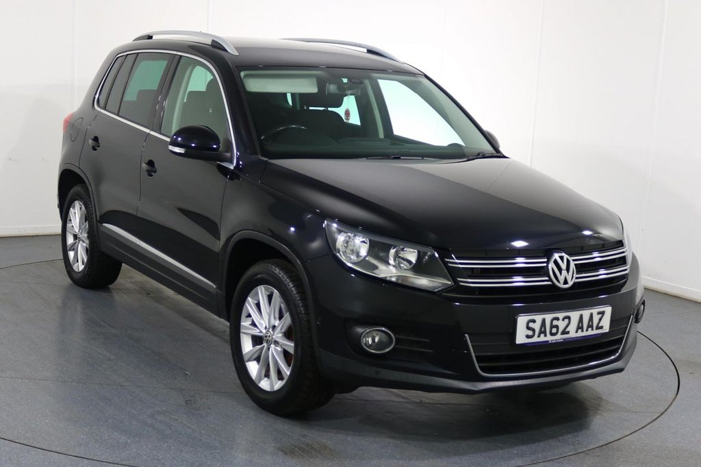 USED 2012 62 VOLKSWAGEN TIGUAN 2.0 SE TDI BLUEMOTION TECHNOLOGY 4MOTION 5d 138 BHP FULL 7 Stamp SERVICE HISTORY