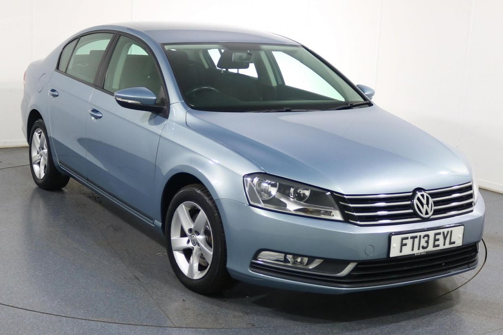 USED 2013 13 VOLKSWAGEN PASSAT 1.6 S TDI BLUEMOTION TECHNOLOGY 4d 104 BHP Company and ONE OWNER with 4 Stamp SERVICE HISTORY