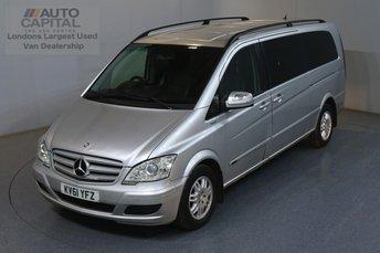 2011 MERCEDES-BENZ VIANO 2.1 AMBIENTE BLUEEFFICENCY 163 BHP 8 SEAT MINIBUS NO VAT £7250.00