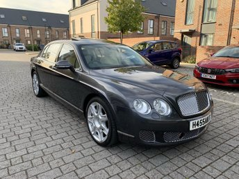 2011 BENTLEY CONTINENTAL 6.0L FLYING SPUR 4d AUTO 552 BHP