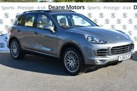 USED 2016 66 PORSCHE CAYENNE 3.0 D V6 TIPTRONIC S 5d AUTO 262 BHP HUGE SPECIFICATION