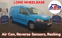 2013 VOLKSWAGEN CADDY MAXI 1.6 C20 TDI  102  BHP, LONG WHEELBASE, 47117 Miles, Air Con, Rear Parking Sensors, Internal Racking, Electric Pack and much more..... £5980.00