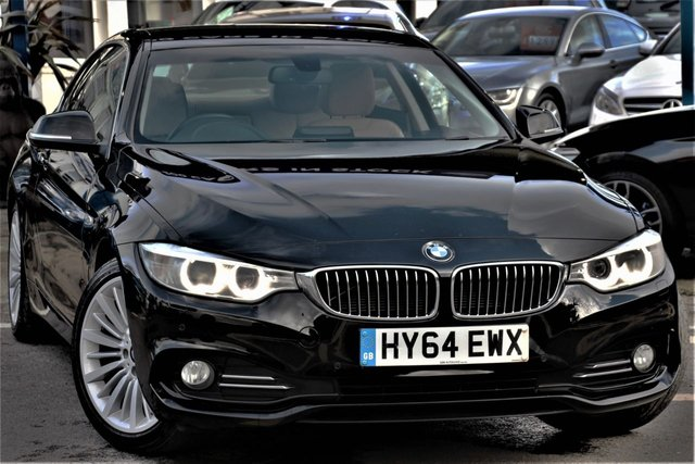 2014 64 BMW 4 SERIES 2.0 420D LUXURY 2d 181 BHP
