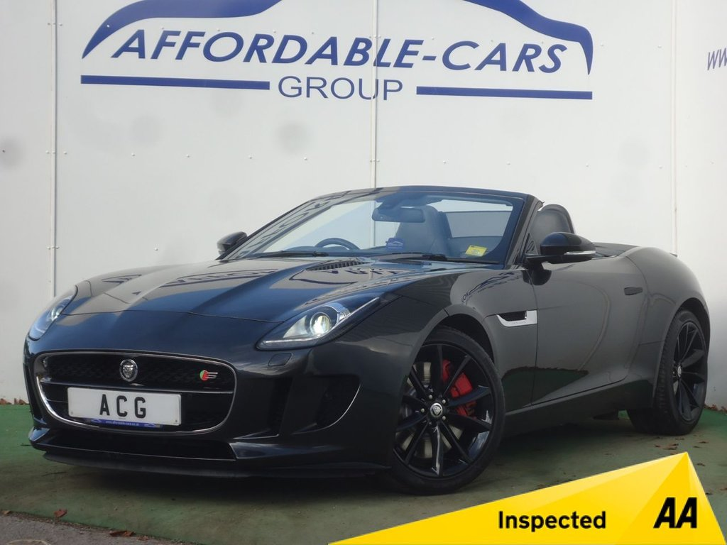 USED 2013 63 JAGUAR F-TYPE 3.0 V6 S 2d AUTO 380 BHP