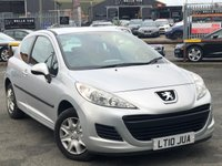 USED 2010 10 PEUGEOT 207 1.4 S HDI 3d 68 BHP *ONLY 70K MILES, SERVICE HISTORY, AIR CON!*