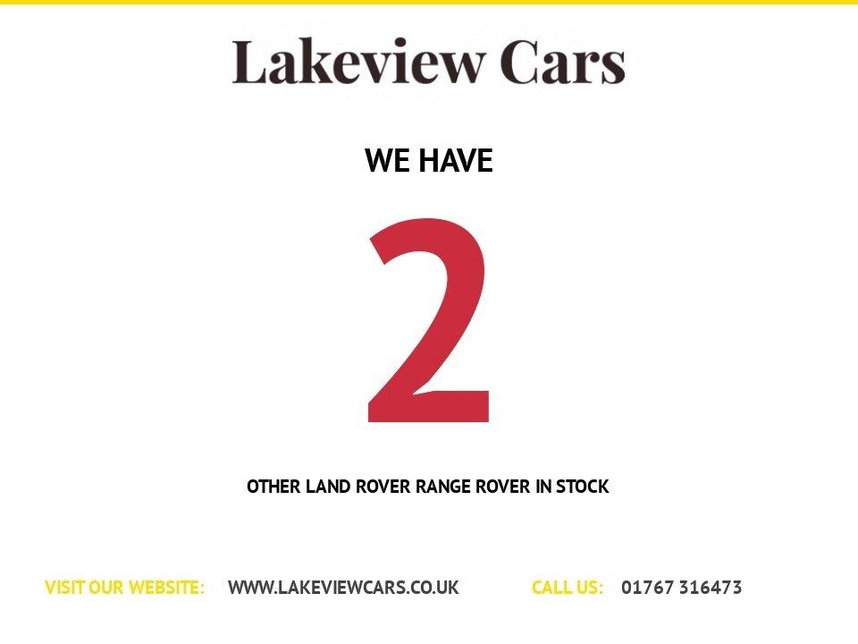USED 2007 57 LAND ROVER RANGE ROVER 3.6 TDV8 VOGUE SE 5d AUTO 272 BHP