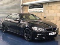 2014 BMW 4 SERIES 2.0 420d M Sport Coupe 2dr Diesel Automatic (124 g/km, 184 bhp) £13989.00