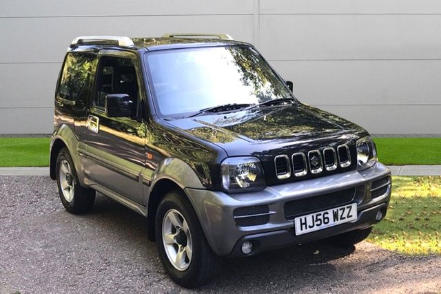 USED 2006 56 SUZUKI JIMNY 1.3 JLX PLUS 3d AUTO 4X4 4WD 4X4 AUTOMATIC LOW MLS, VERY RARE CAR FINANCE ME TODAY-UK DELIVERY POSSIBLE