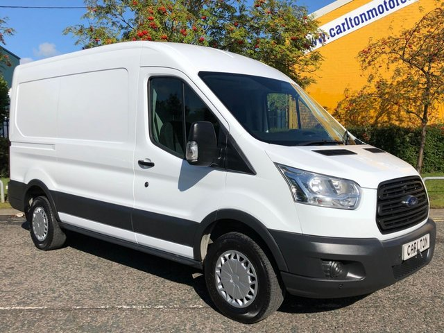 2015 64 FORD TRANSIT 350 L2 H2 TDCi 125ps [ MOBILE WORKSHOP ] VAN RWD
