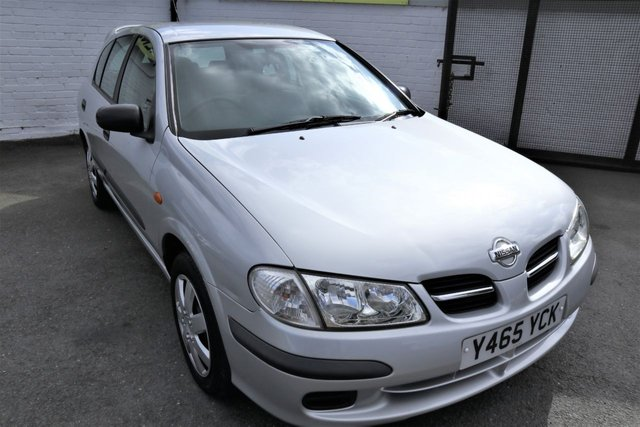 USED 2001 Y NISSAN ALMERA 1.5 S 5d 88 BHP *MOT SEPT 2020 - P/X TO CLEAR*