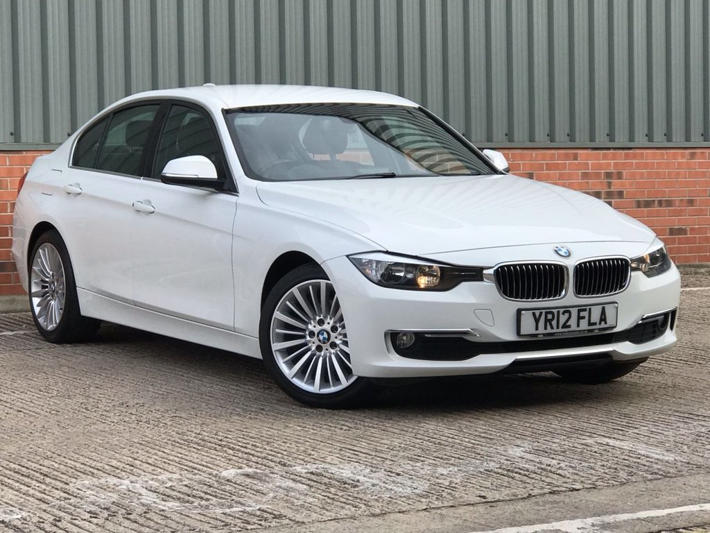 USED 2012 12 BMW 3 SERIES 2.0 320D LUXURY 4d 184 BHP EXCELLENT CONDITION AND FANTASTIC VALUE