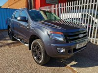 2015 FORD RANGER 3.2 WILDTRAK 4X4 D/Cab Pick-up Automatic *1 OWNER* £SOLD