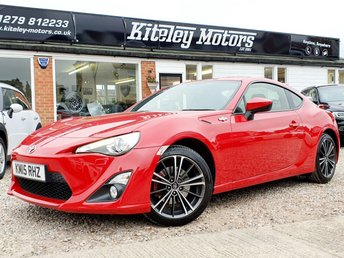 2015 TOYOTA GT86 2.0 D-4S COUPE 197 BHP FULL LEATHER £14795.00