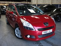 2011 PEUGEOT 5008 1.6 HDI EXCLUSIVE 5d AUTO 112 BHP £SOLD