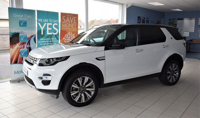 2016 66 LAND ROVER DISCOVERY SPORT 2.0 TD4 HSE LUXURY 5d AUTO 180 BHP STOP/START NEW MODEL £145 P/Y ROAD TAX