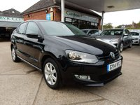 2014 VOLKSWAGEN POLO 1.2 MATCH EDITION 5d 59 BHP £5990.00