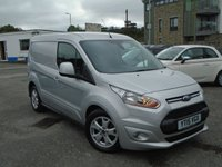 USED 2015 15 FORD TRANSIT CONNECT 1.6 200 LIMITED P/V 1d 114 BHP+VAT NEW SERVICE £8250+VAT