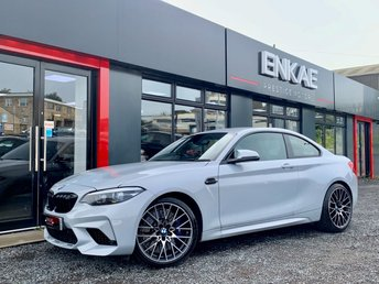 2019 BMW M2 3.0 M2 COMPETITION 2d AUTO 405 BHP £50995.00