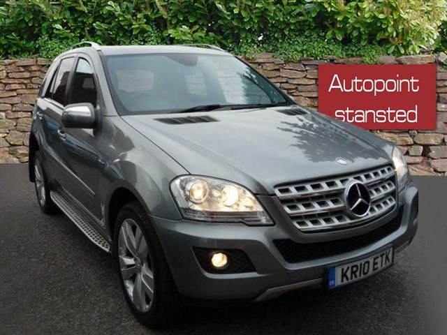 2010 10 MERCEDES-BENZ M CLASS ML350 CDI BLUEEFFICIENCY DIESEL SPORT AUTOMATIC