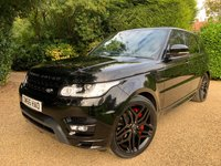 USED 2017 66 LAND ROVER RANGE ROVER SPORT 3.0 SDV6 AUTOBIOGRAPHY DYNAMIC 5d AUTO 306 BHP