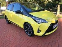 2017 TOYOTA YARIS 1.5 VVT-I YELLOW EDITION 5d AUTO 135 BHP £12990.00