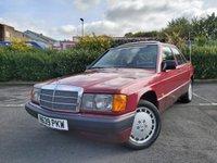 1990 MERCEDES-BENZ 190 2.0 E 4d £4650.00