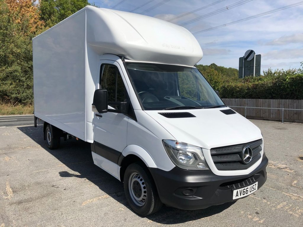 USED 2016 66 MERCEDES-BENZ SPRINTER 2.1CDI 314 LWB LUTON TAIL-LIFT (EURO 6)(140 BHP)