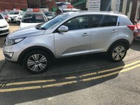 USED 2014 14 KIA SPORTAGE 2.0 CRDI KX-3 5d 134 BHP 12 MONTHS COMPREHENSIVE PARTS AND LABOUR WARRANTY AND 12 MONTHS BREAKDOWN COVER AT SCREEN PRICE