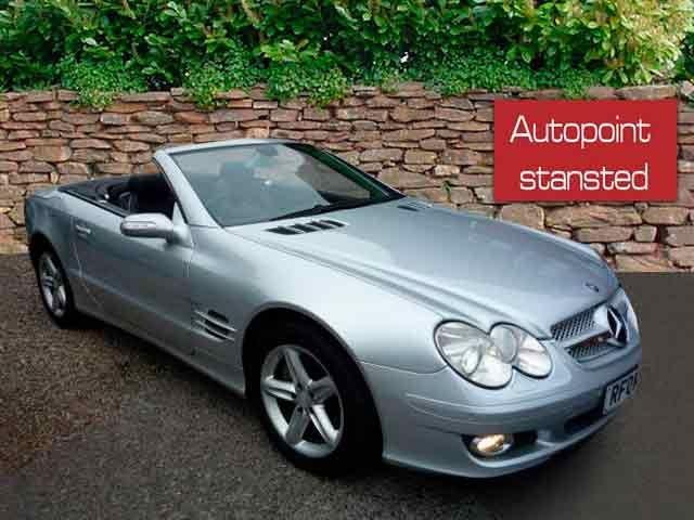 2007 07 MERCEDES-BENZ SL 5.5 SL500 2d AUTO 383 BHP