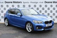 USED 2016 16 BMW 1 SERIES 2.0 118D M SPORT 5d 147 BHP COMFORT PACKAGE