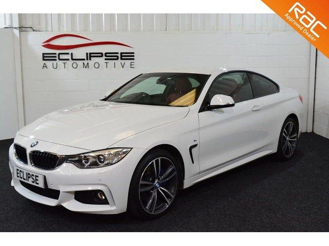 2016 66 BMW 4 SERIES 2.0 420D XDRIVE M SPORT 2d AUTO 188 BHP