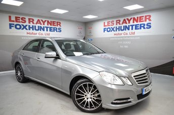 2012 MERCEDES-BENZ E CLASS 2.1 E220 CDI BLUEEFFICIENCY S/S SE 4d AUTO 170 BHP £7999.00