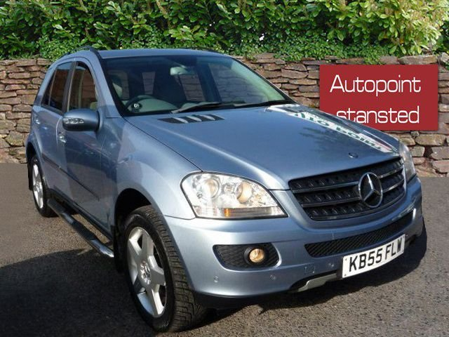 2006 MERCEDES-BENZ M CLASS ML320 CDI SE AUTOMATIC